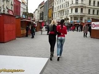 Lesbian slippery massage