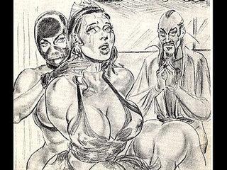 amazons dominate mixed wrestling lesbian wrestling art comics